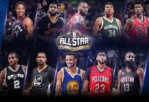 NBA all-star 2017 starters