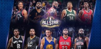NBA all-star 2017 starters