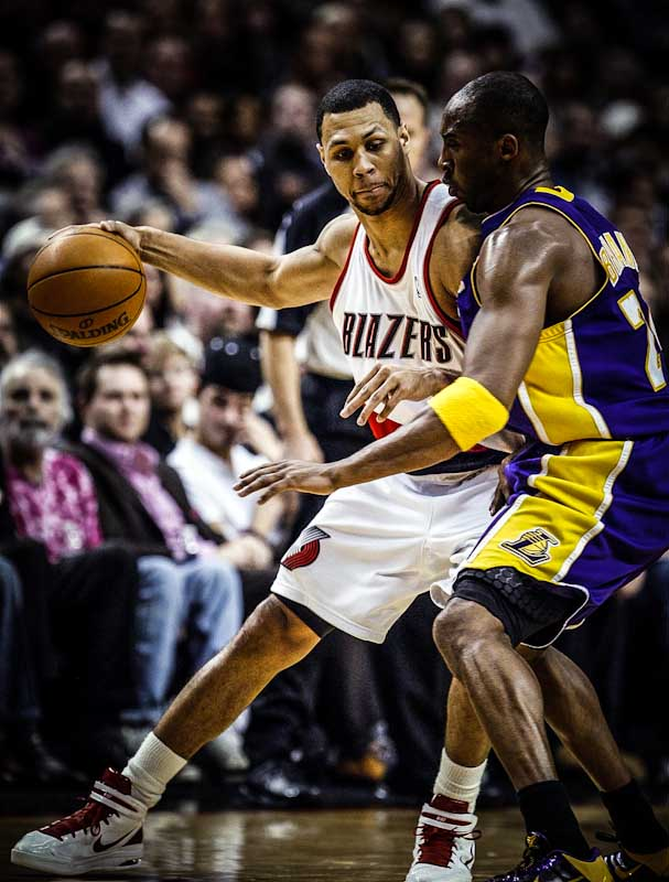 Brandon Roy có kỹ thuật không thua kém bất cứ ngôi sao NBA nào