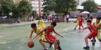 Giải bóng rổ THCS - THPT Hà Nội - Cup Nestle Milo 2017