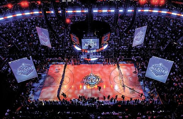 New Orleans từng là nơi diễn ra sự kiện NBA All-Star 2004-2014 và nay là 2017
