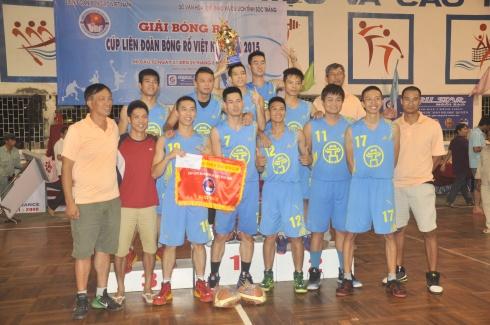 Hà Nội vô địch Giải Cup Bóng rổ Quốc gia 2015
