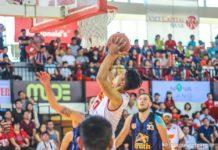 Nguyễn Văn Hùng trong trận đấu của Saigon Heat tại ABL 2017