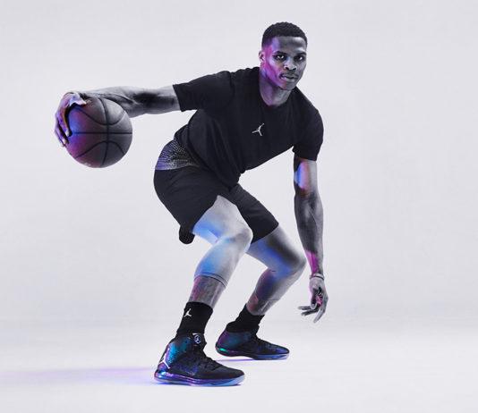Russell Westbrook trong phiên bản Air Jordan All-Star 2017