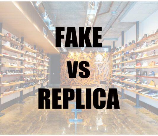 Fake vs Replica