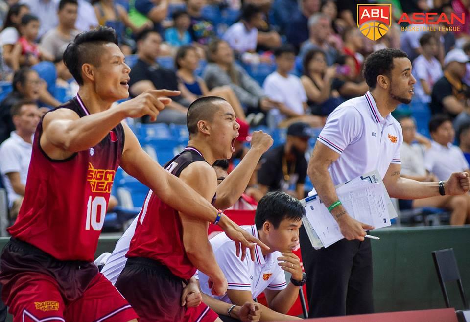 Saigon Heat chính thức vào Playoffs ABL 2017