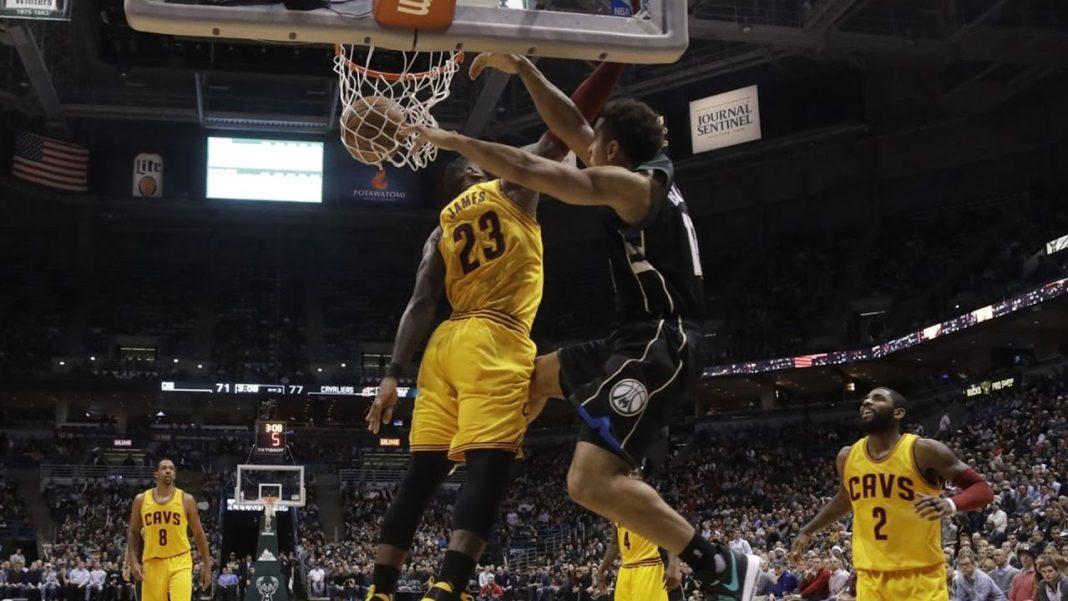 Brogon dunk on Lebron