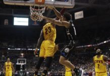 Brogon dunk on Lebron