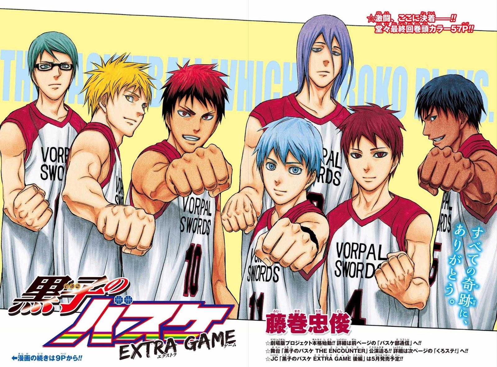 Tổng hợp mọi thông tin về bộ phim Kuroko's Basketball The Movies: Last Game (update liên tục)
