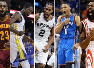 Cuộc đua sít sao danh hiệu NBA MVP 2016-2017