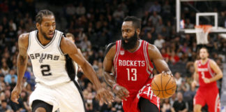 James Harden vs Kawahi Leonard
