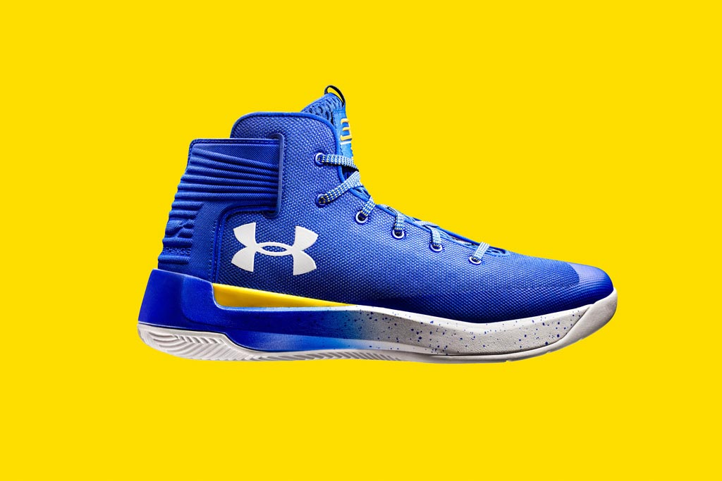 Under Amour Curry 3Zero, mẫu giày mới nhất của Curry tại Playoffs 2017