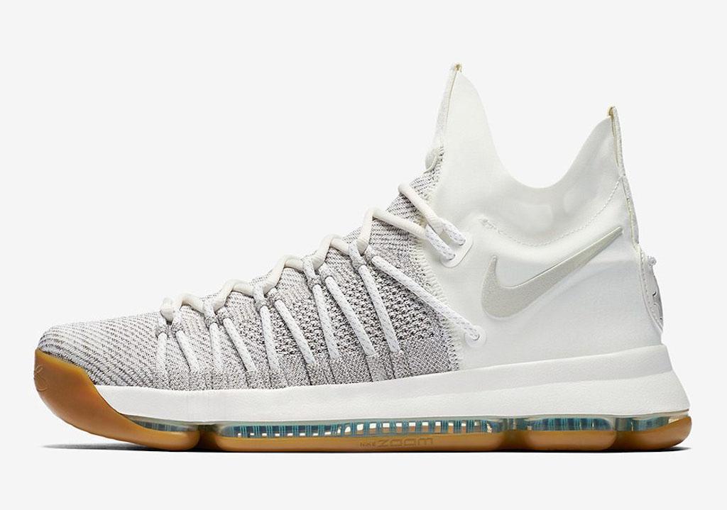 Nike Zoom KD9 Elite, mẫu giày Durant đang sử dụng tại NBA Playoffs năm nay.