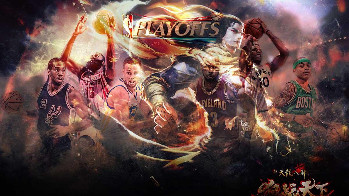 """NBA Playoffs 2017: Xuất hiện """"Tứ đại cao thủ"""" trong truyền thuyết kiếm hiệp Kim Dung"""