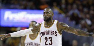 Cleveland vào chung kết NBA 2017