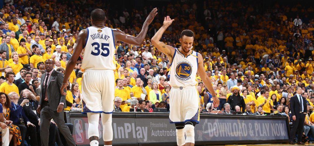 Kevin Durant toa sang Game 1 - NBA Finals 2017