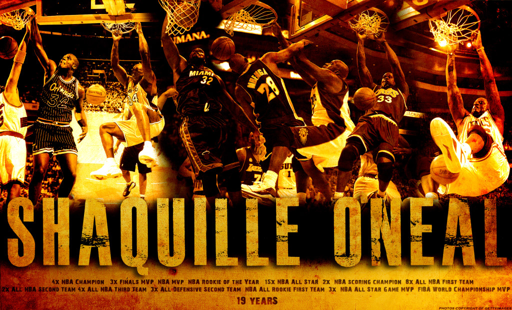 Shaquille O'Neal – Trung phong huyền thoại trong lịch sử NBA
