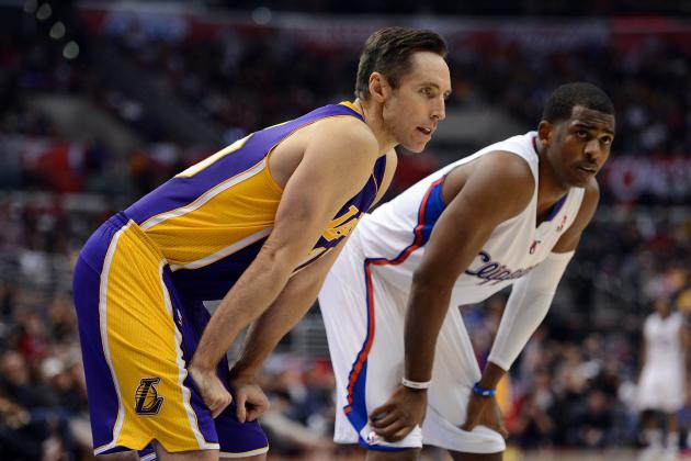Chris Paul and Steve Nash