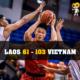 Nguyễn Văn Hùng tỏa sáng trong trận Vietnam - Laos tại Seagame 29