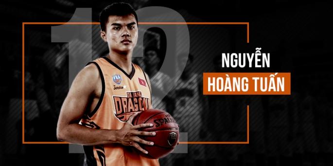 Nguyễn Hoàng Tuấn – Điểm sáng mới trong đội hình Danang Dragons