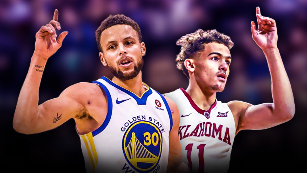 Trae Young the next Stephen Curry