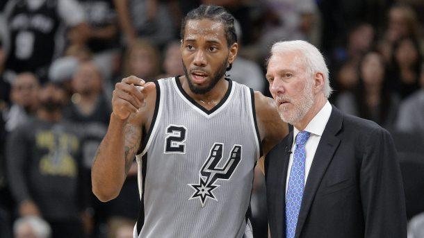 Lí do nào đã đẩy quan hệ giữa Kawhi và Spurs đến hồi kết?