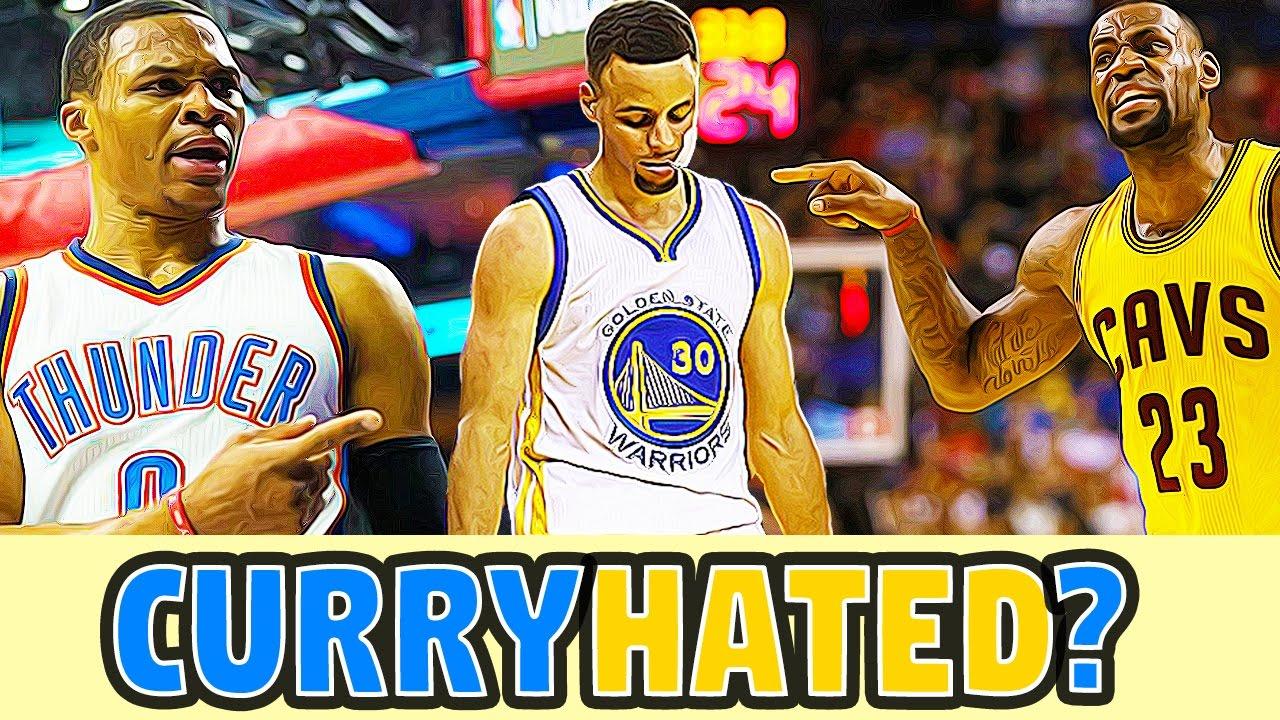 Lí do nào mà các cầu thủ NBA đều ghét Stephen Curry đến như vậy?