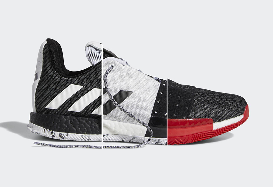 Những hình ảnh đầu tiên của Adidas Harden Vol.3 đã chính thức lộ diện