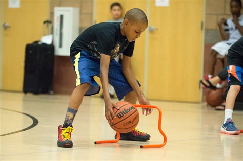 Different heights dribble