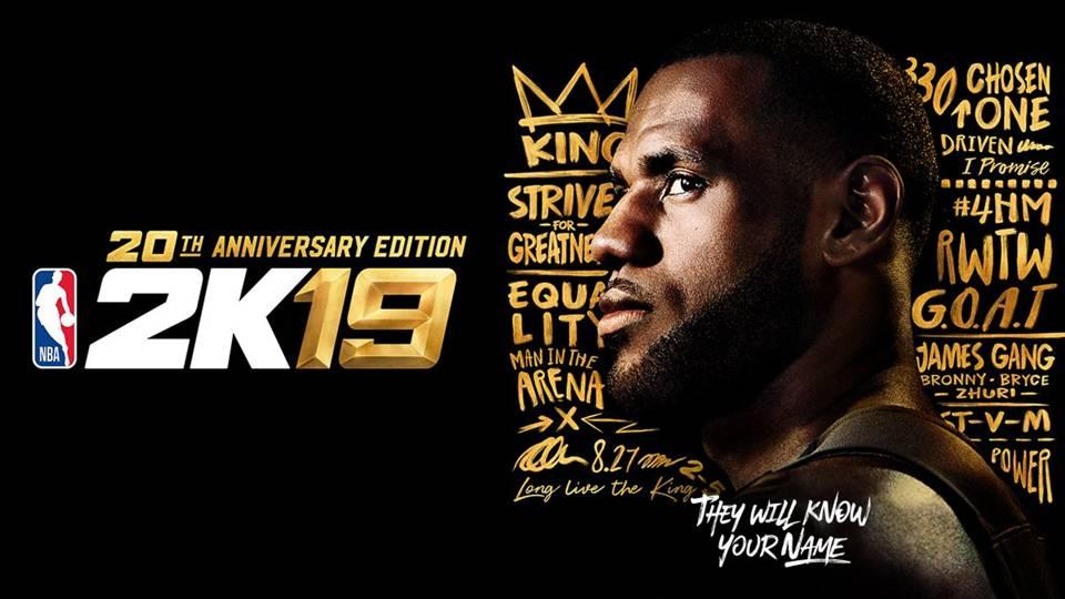 NBA 2k công bố xếp hạng chỉ số các cầu thủ và ngày phát hành NBA 2k19