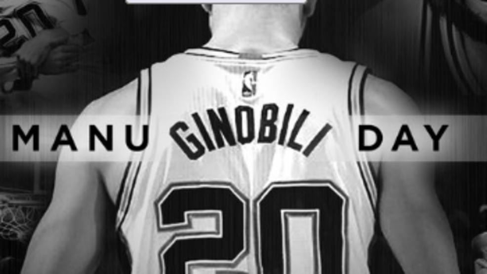 San Antonio tổ chức Ngày Manu Ginobili