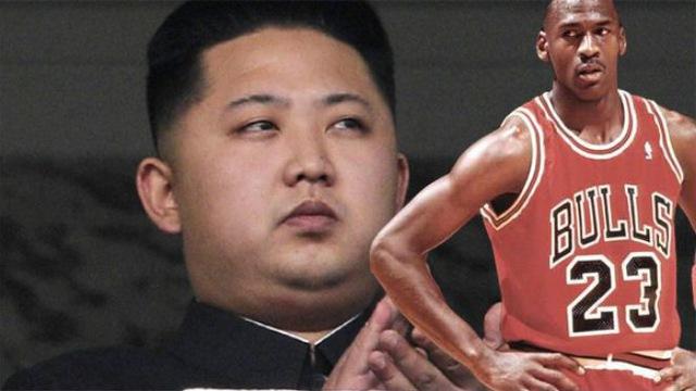 """Michael Jordan từng nói """"Không"""" với  lãnh đạo Triều Tiên Kim Jong Un"""