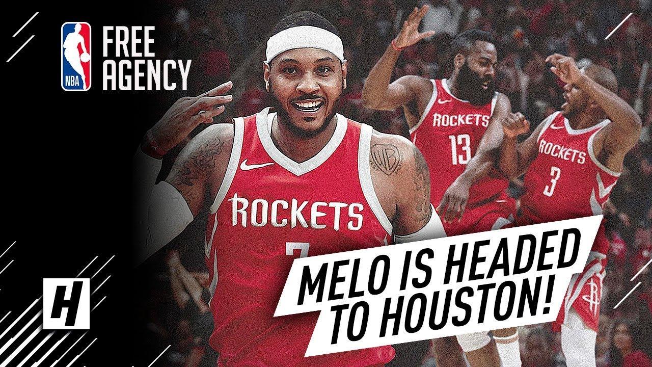 Để thích nghi với lối đánh của Houston Rockets, Carmelo Anthony đã và đang luyện tập như thế nào?