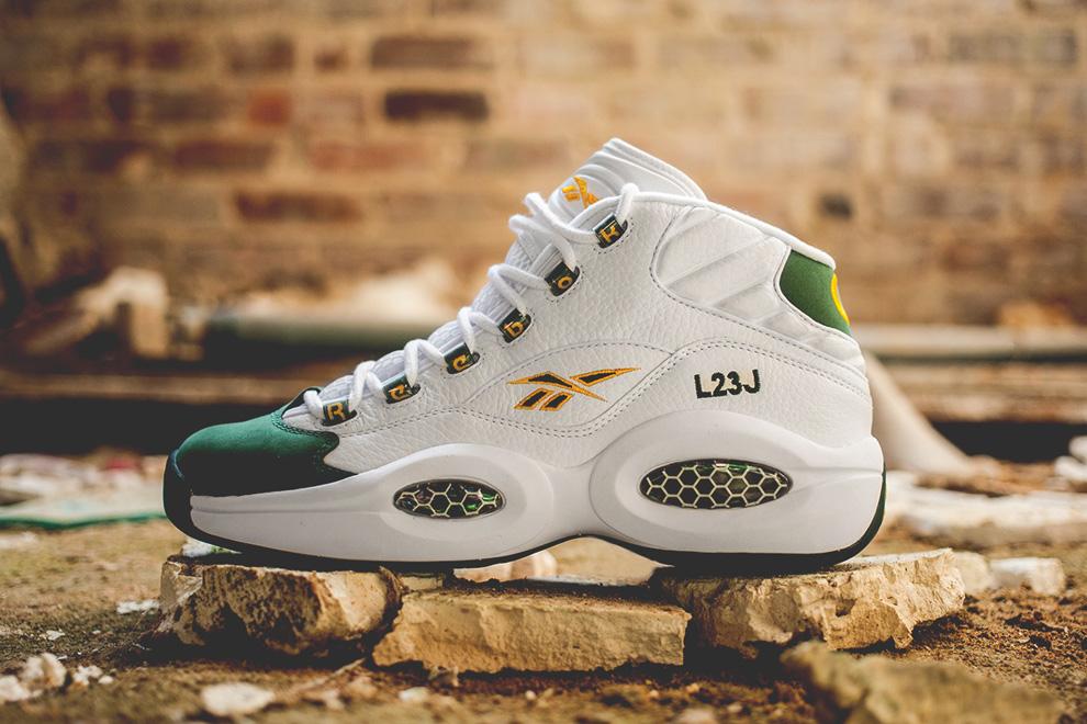 Nhìn lại những mẫu giày thời trung học của LeBron James