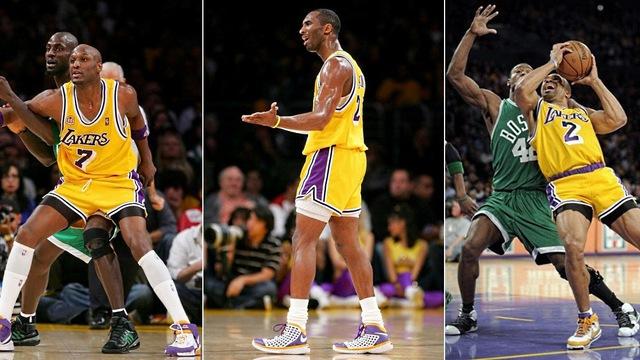 Không có gì thảm họa hơn thời trang Lakers vào năm 2007