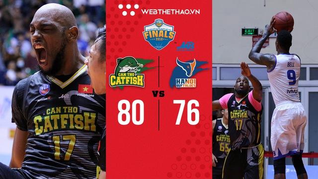 VBA Finals 2018 – Game 1: Catfish lội ngược dòng đỉnh cao tại sân nhà