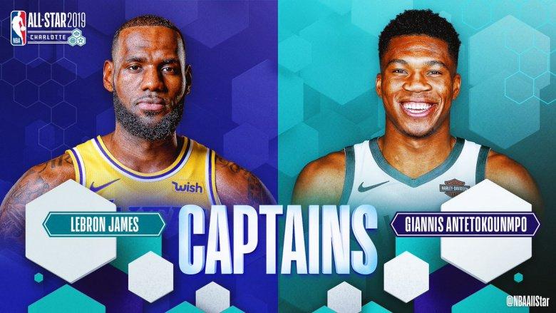 Công bố danh sách NBA All-Star: Team LeBron vs Team Giannis