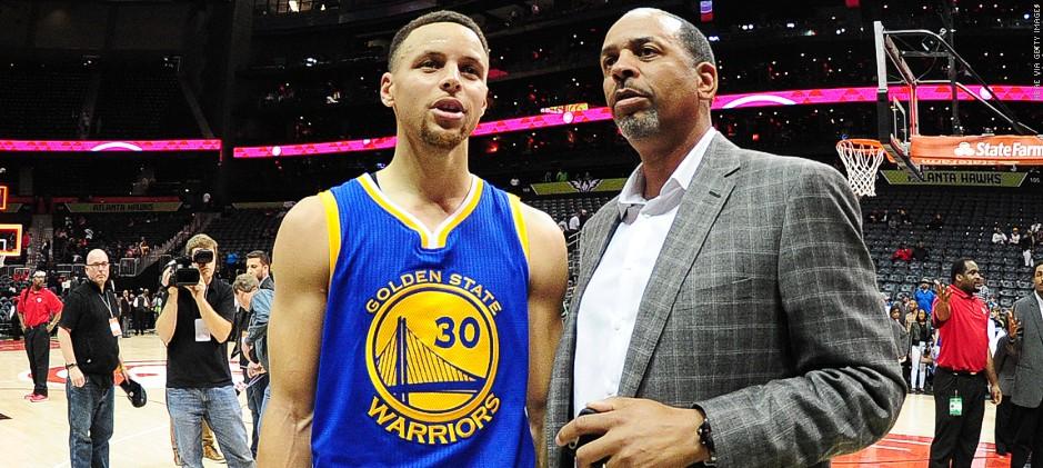 Đến Stephen Curry còn không biết bố mình đang giữ kỷ lục này tại NBA
