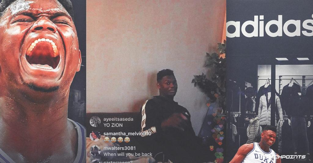 "Zion Williamson khiến fan Nike ""nhức nhối"" khi diện nguyên cây adidas"