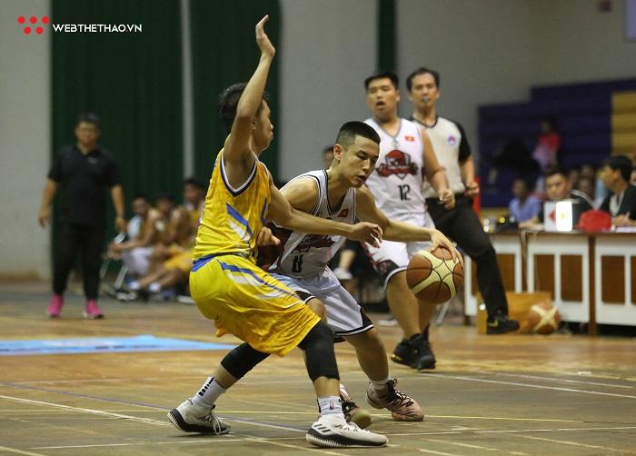 Lần đầu tiên đôi bóng VBA xuất hiện tại Giải bóng rổ vô địch Quốc gia 2019