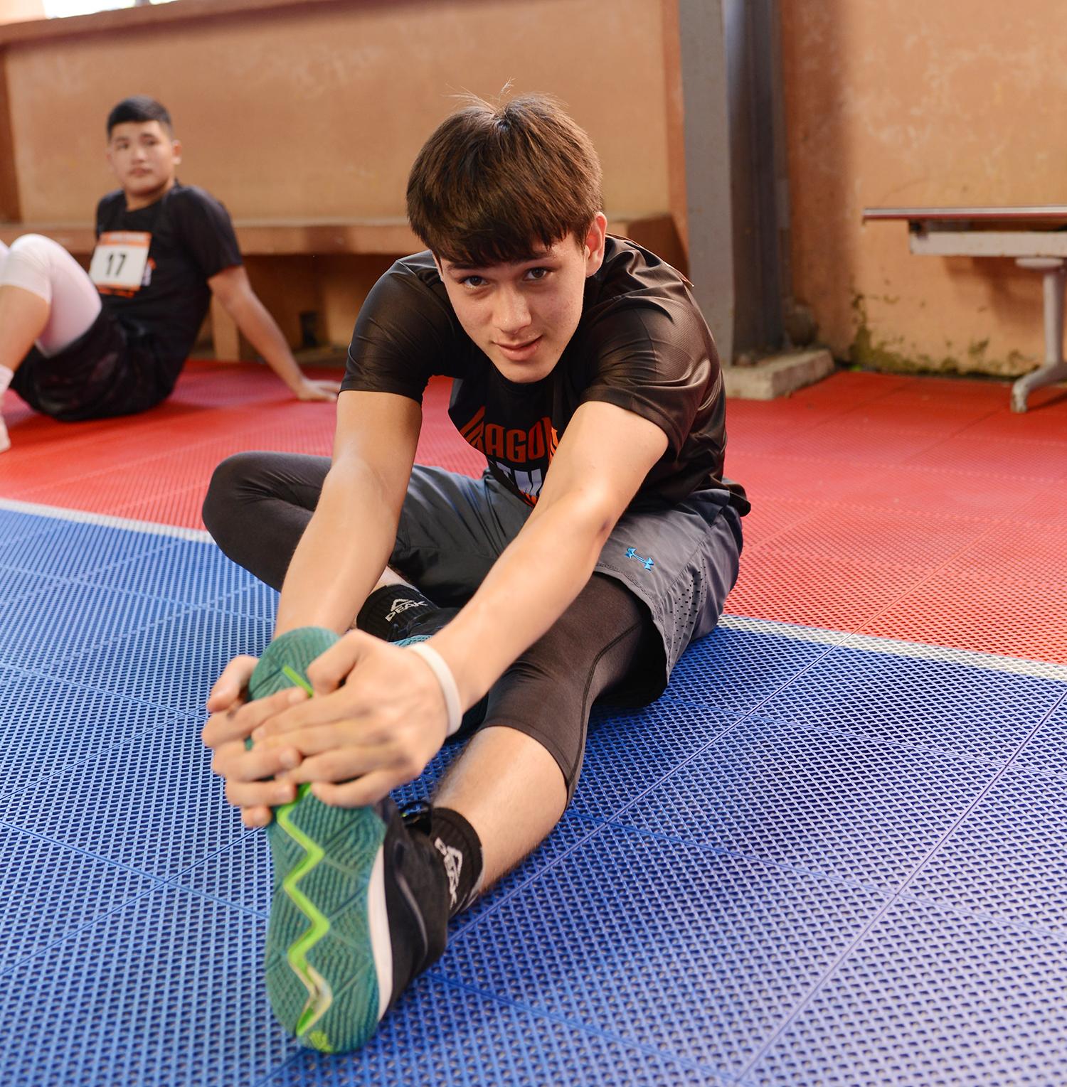 Tài năng 15 tuổi cao 1m88, chơi bóng hay, đẹp trai rạng ngời tại VBA Try Out Đà Nẵng