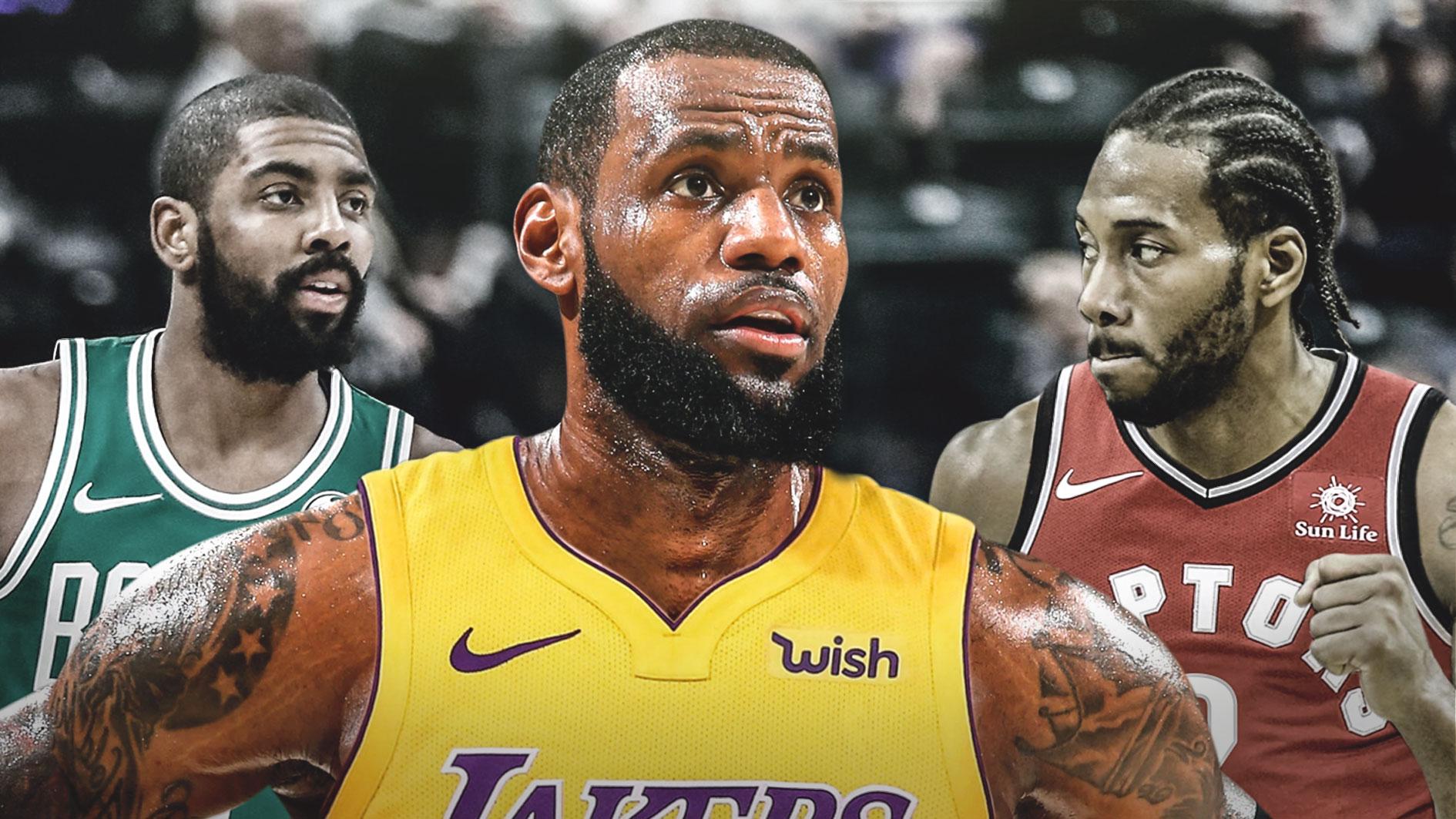 Magic Johnson: Kawhi Leonard, Kyrie Irving sẽ là mục tiêu hàng đầu của Lakers