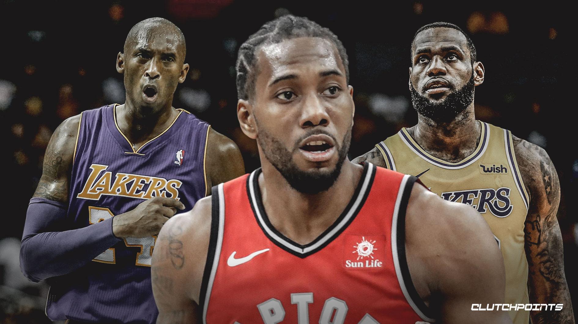 Kawhi Leonard cân bằng kỷ lục với Kobe Bryant và LeBron James tại NBA Playoffs