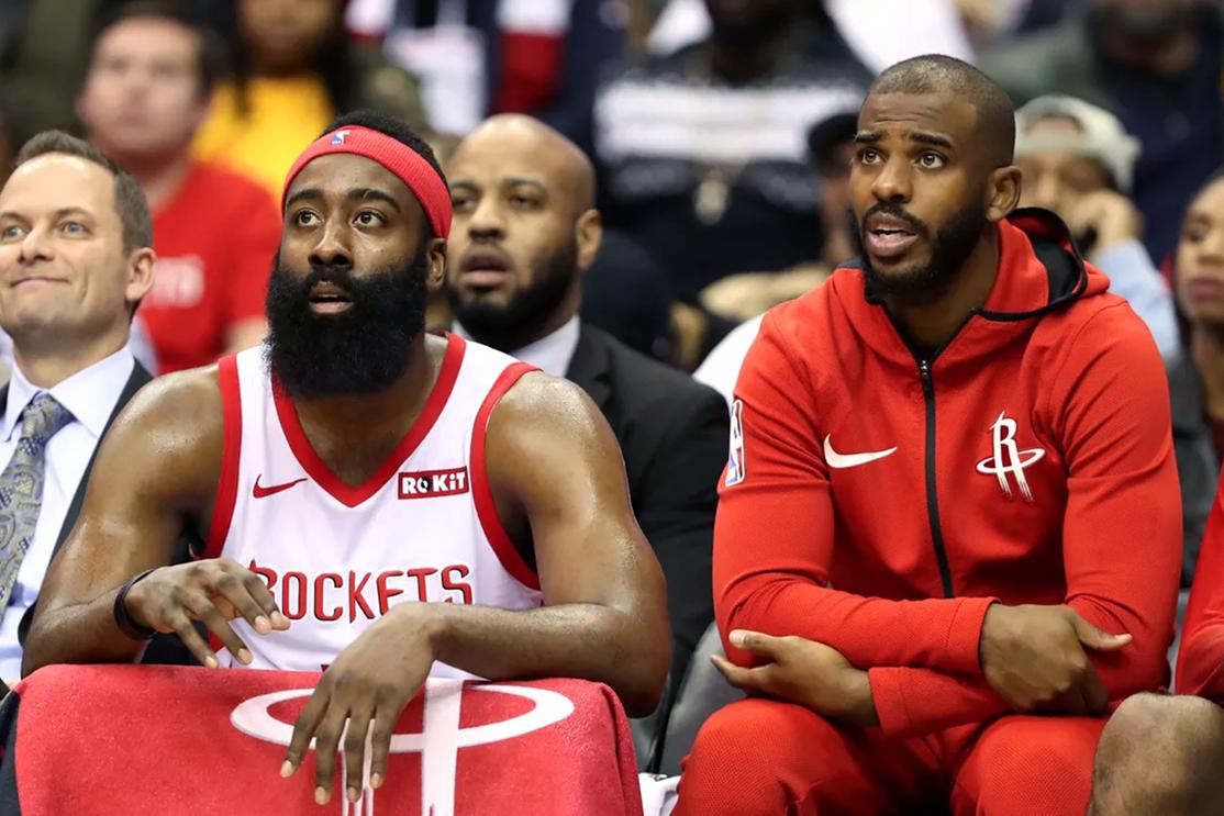 """Hé lộ khủng hoảng tại Rockets: Chris Paul và James Harden trước giờ đều """"bằng mặt, không bằng lòng"""""""