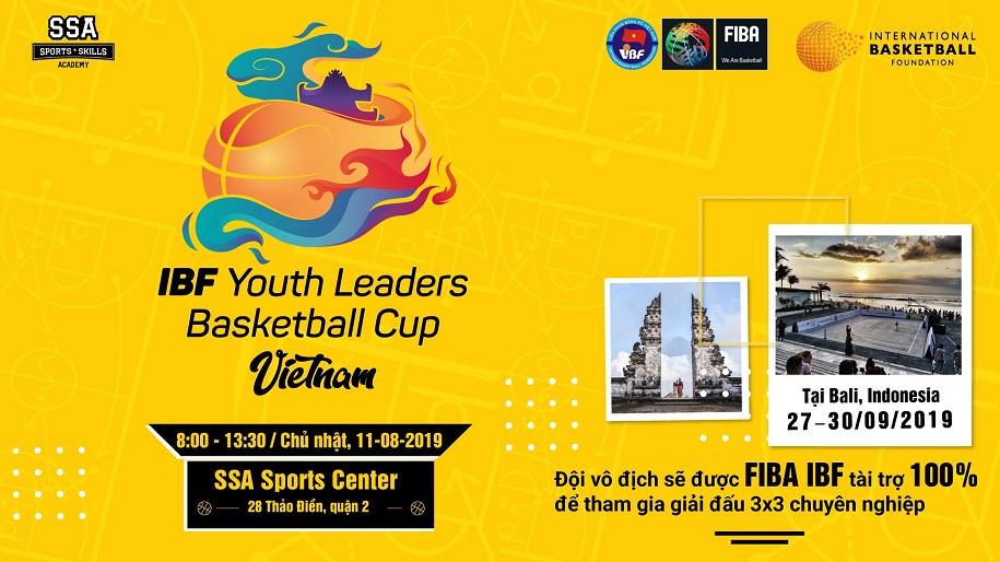SSA tổ chức giải 3×3 tìm kiếm tài năng Việt Nam dự IBF Youth Leaders Cup