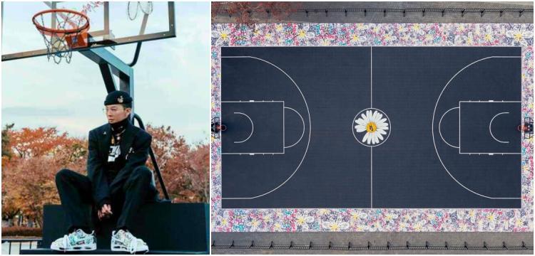 G-Dragon quyên tặng sân bóng rổ do chính anh trang trí