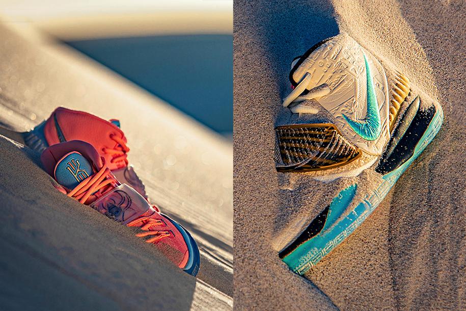 Mê mẩn với 2 cực phẩm Concepts x Nike Kyrie 6 đậm chất Ai Cập cổ đại